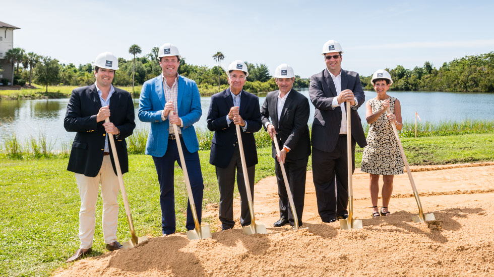 It's official! Seafields at Kiawah Island has broken ground